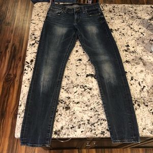 Lucky Brand Sienna Cigarette Jeans in 00 / 24